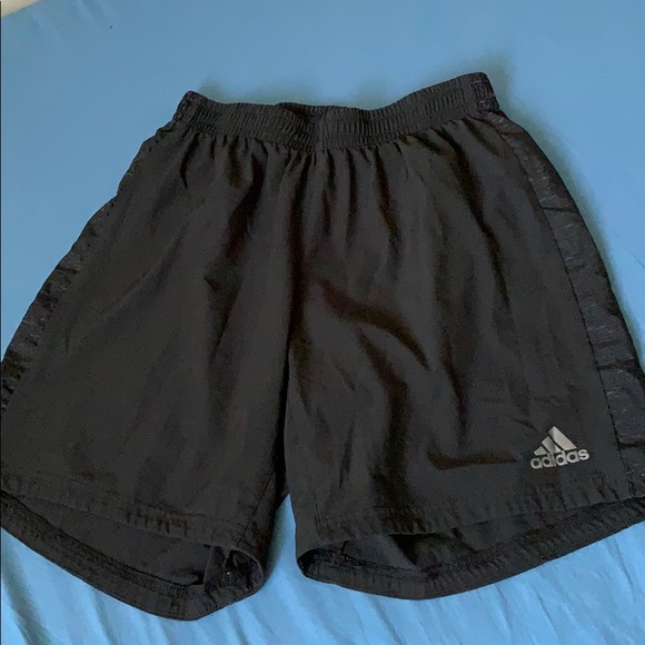 Adidas mid thigh shorts